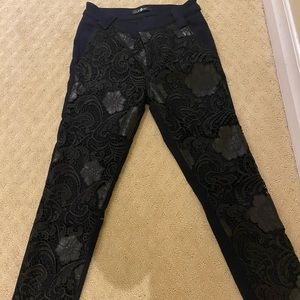 For all mankind lace front trousers